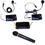 Amplivox S1660 UHF 900 MHz Wireless Hand Held Mic Kit