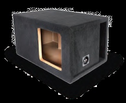 Atrend 10SXK Single 10 Inch Vented Kicker SOLOX S10X Competition Subwoofer Box 1 Inch MDF