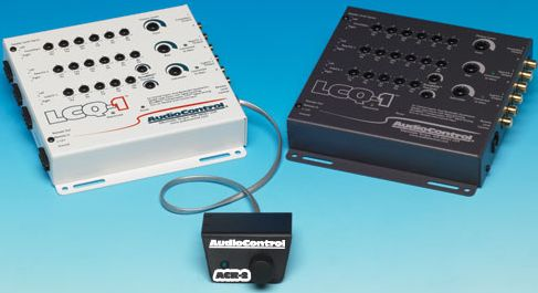 Audio Control LCQ-1 6 Channel Line Output Converter with EQ and AccuBASS and Level Control