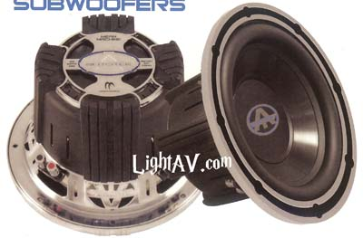Autotek Mean Machine Subwoofers