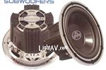 Autotek MW12D4 Mean Machine 12 Inch Dual 4 Ohm 1200 Watt Competition Subwoofer