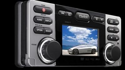 CLARION CMV1 MARINE DVD/CD/USB RECEIVER WITH CENET
