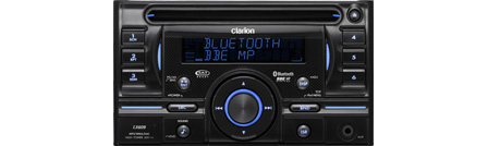 Clarion CX609 2-DIN CD/MP3/WMA/AAC RECEIVER WITH USB