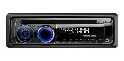 CLARION CZ101 SINGLE-DIN CD / MP3 / WMA RECEIVER with Front 3.5MM Mini Aux Input