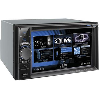 CLARION NX501 7 Inch SINGLE-DIN NAVIGATION MULTIMEDIA CONTROL STAION WITH USB & BLUETOOTH