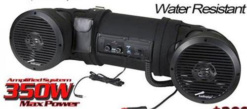 Audiopipe Atvp3200 Dual 8 Quot 2 Way 350w Marine Off Road