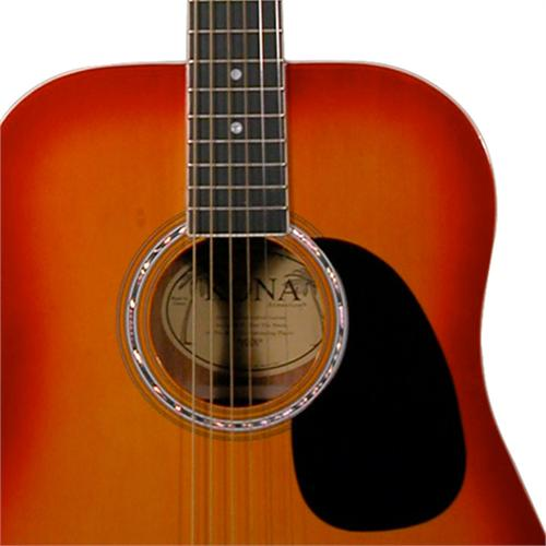 kona k41csb dreadnought acoustic guitar. Black Bedroom Furniture Sets. Home Design Ideas