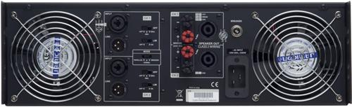 Cerwin Vega CV-5000 2 x 1100 Watts RMS at 8 Ohms 2 Channel