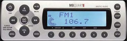 mb quart wm1 bb hideaway am fm receiver module with 4 x. Black Bedroom Furniture Sets. Home Design Ideas