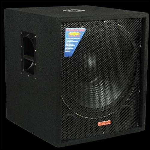 Mr Dj Sub 4000amp Patron 18 Quot Bass Reflex Active Powered