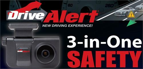 Power Acoustik DRIVE ALERT 3 In 1 Front Collision Warning