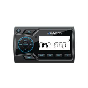 Soundstream MHU-32 Marine Grade Digital Media Player w/ 32GB USB Playback, Bluetooth 4.0 and 2-Zone Audio