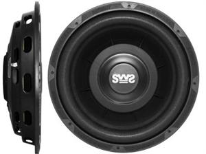 Earthquake SWS-10X 10 Inch Shallow Mount Subwoofer /each