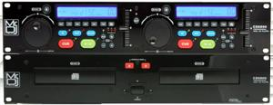 MR DJ CD-6800 Professional DJ CD/MP3 Player with Dual Disc Drive and Remote Control