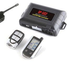 Crimestopper SP-502 2 Way FM / FM Paging Combo Alarm / Remote Start Security System