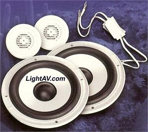 Earthquake MC6 6.5 Inch 2 way Marine Component Set Speakers