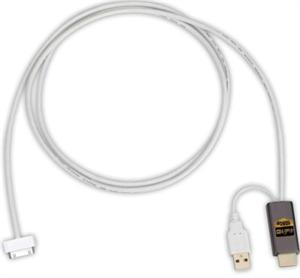 Power Acoustik HDM-A2 MHL / HDMI Interface Cable for Samsung Galaxy 2 & Select 5 Pin Android Devices