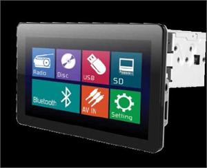 SoundStream VR-930B Mobile 8 Single DIN 9.3 Touch Screen LCD / DVD AV Receiver with Mobile Link , USB / SD / Bluetooth 2.0 + A2DP