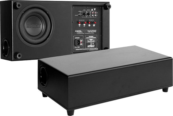 Earthquake Couch Potato 8 Inch 150 Watt Class A/B Low Profile Home Powered Subwoofer CES 2010 Award Winner