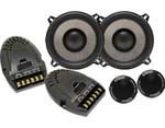 Earthquake FC5.2 Focus 5.25 Inch 2 Way Component Set with PistonMax and lluminated EQ Logo