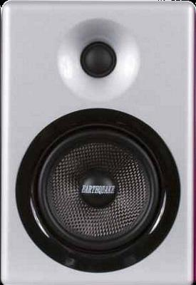 Earthquake IQ-52S iQuake 2.1 5.25 Inch 2 Way Speaker System for iPod and Portable Media Silver