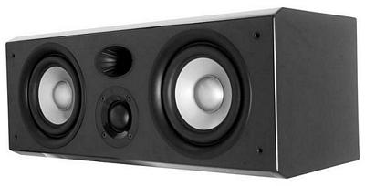 Earthquake PN-2515BLACK Platine Noiree Dual 5 Inch + 1.5  Inch 2 Way 300 Watt LCR/Surround Sound Speaker Black Piano Finish