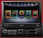 Farenheit TI-740NB 7 Single DIN Navigation Ready Multimedia Receiver with BlueTooth V2.1 EDR, SD/USB