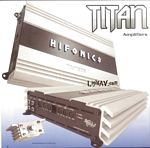Hifonics Titan 2 / 4 / 5 Channel Amplifiers