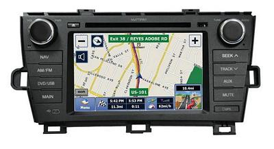 Myron Davis NV7TPR1 7 Inch Toyota Prius Vehicle Specific In-Dash Navigation with Bluetooth