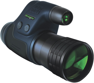 Night Owl NONM3X-G 3.0x Lightweight Night Vision Monocular With IR Illuminator