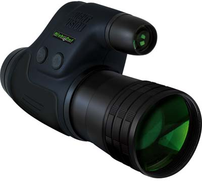 Night Owl NONM4XI LIGHTWEIGHT 4X 4.0x Lightweight Night Vision Monocular With IR Illuminator