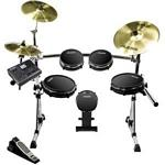 Alesis DM10 PRO KIT Digital Drum Set with DM10 Drum Module, RealHead drum pads, and SURGE Cymbals