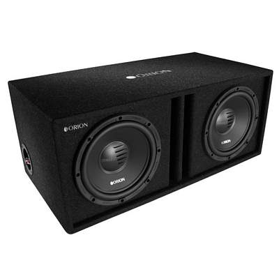 ORION COBALT CO104DBX DUAL 10 Inch 800 Watt Vented / Ported Subwoofer Box 2 OHM