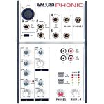PHONIC AM120 AM Series 2 Mic/Line 2 Stereo Input Compact Mixer
