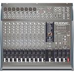 PHONIC PowerPod-1860 800W 12-Ch Powered Mixer with Graphic EQ, DFX
