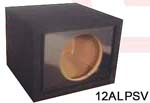 Atrend 10ALPSV Alpine Single 10 Inch Vented Subwoofer Box