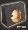 Atrend 10TKV Single 10 Inch Vented Truck Wedge Subwoofer Box Each