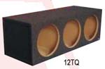 Atrend 10TQ Triple 10 Inch Sealed Subwoofer Box
