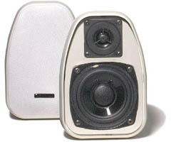 BIC DV-32W 3 1/2 Inch 2-Way Compact Shielded 125-Watt Speakers /pr