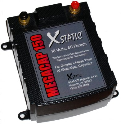 BatCap MegaCap 150 50 Farad Capacitor Authorized BatCap