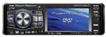 Power Acoustik PTID-4005 3.6 Wide Din Size In-Dash Fully Motorized TFT Monitor/DVD/AM/FM