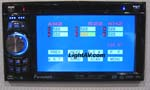 "Power Acoustik PTID-5800 5.8"" Wide Touch Screen Double Din In-Dash TFT Monitor/DVD/AM/FM/TV Tuner"