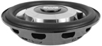 Earthquake SWS-10 10 200 RMS 4 Ohm Slim / Shallow Mount Subwoofer Each B Stock