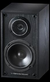 Cerwin Vega VE 5M Series 525 In 2 Way Bookshelf Satellite Speakers OLD