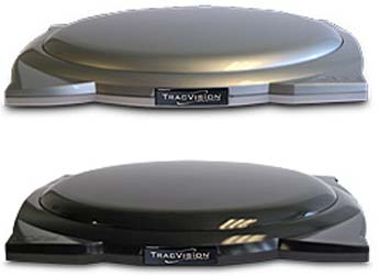 Tracvision A7rr Low Profile Roof Rack Mobile In Motion Satellite System Black