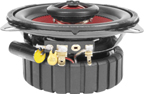 Earthquake Sound F4.0-R Focus 4 Inch 2 Way Coaxial Speakers