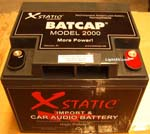 BatCap Model 2000 1000+ CCA Import Battery