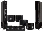 Earthquake Platine Noiree 7.1 AudioPhile Surround Sound System Piano Black