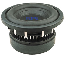 SPL SPLW-12 12 Inch Dual 1 Ohm 1100Watt RMS Competition Subwoofer