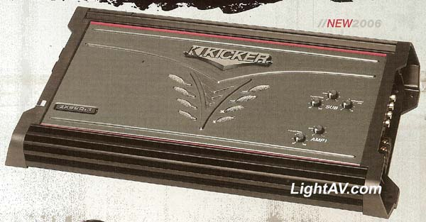 Kicker ZX350.4 ZX Series 4 Channel 90 Watts Per Channel Amplifier